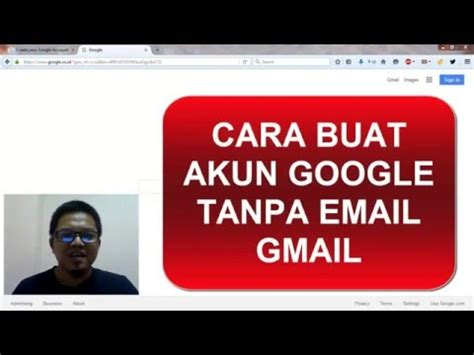 buat akun google dan youtube cara buat akun google tanpa gmail youtube