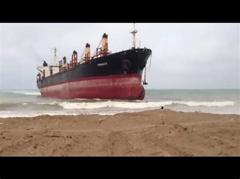 sinking all boats without warning top 5 ships crashing into shore youtube