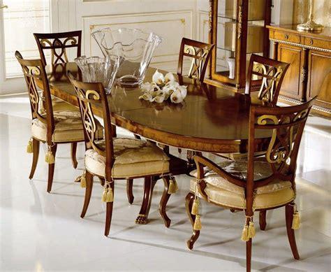 speisesaal im französischen stil tabelle mit standfu 223 furniert nussbaum und esche maser