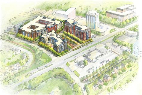 Central Park Floor Plan by Developers Unveil Plans For Mixed Use Chevy Chase Lake