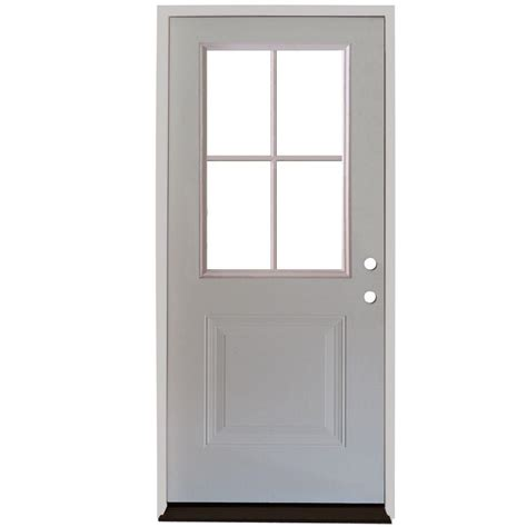 Steves Sons 32 In X 80 In Premium White Right Hand 32 X 73 Exterior Door