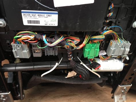 power seat wiring to make it work outside the car