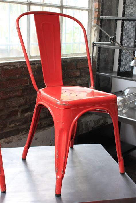 chaise tolix ancienne 4 ancienne chaise tolix xavier pauchard des annees 50