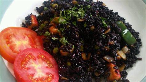 Minyak Goreng Di Surabaya nasi goreng hitam sehat tanpa minyak muslimahzone