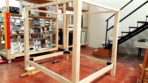 letto a baldacchino in legno letto baldacchino in legno massello di castagno xlab la
