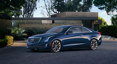 Cadillac With Doors by 2015 Cadillac Ats Coupe Sheds Two Doors And The Wreath