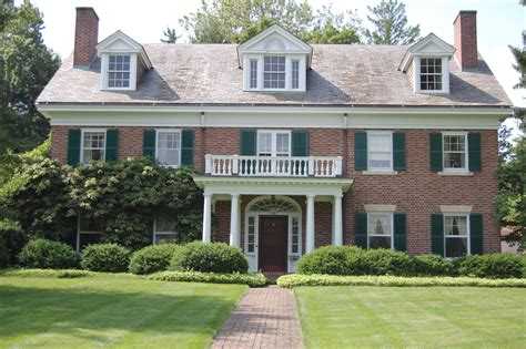 what is a colonial style house georgian colonial revival houses are a symmetrical beauty