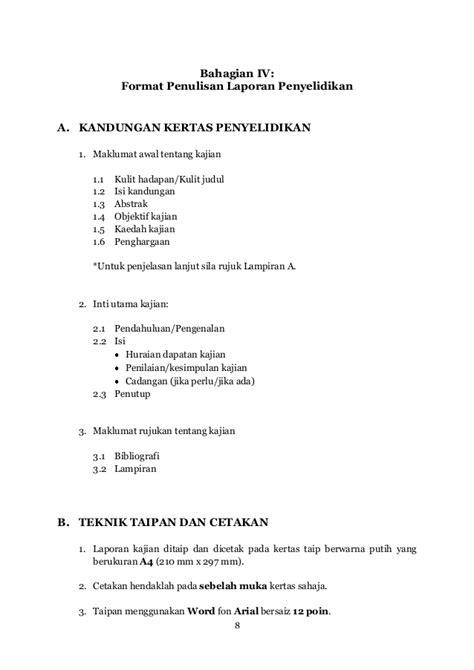 format penulisan abstrak kajian panduan penulisan kajian tingkatan 6 1