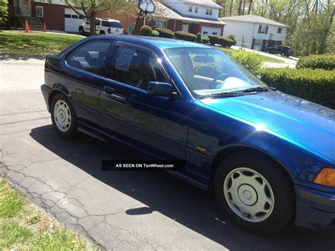 1998 bmw 318ti 1998 bmw 318ti base hatchback 2 door 1 9l