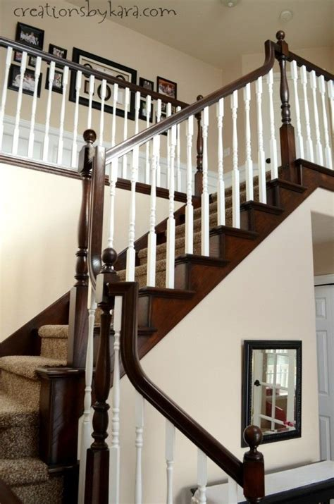 staining stair banister 6 beautiful room updates stains anchors and search