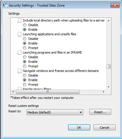 configure ie 11 to work with siebel 8.1
