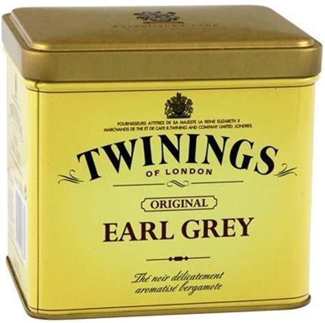 Teh Earl Grey th 233 twinings earl grey 200 gr vente en ligne