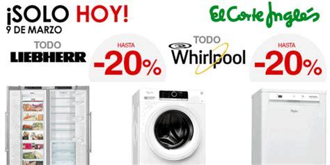 ofertas de lavavajillas en el corte ingles 161 s 243 lo hoy ofertas en electrodom 233 sticos de grandes marcas