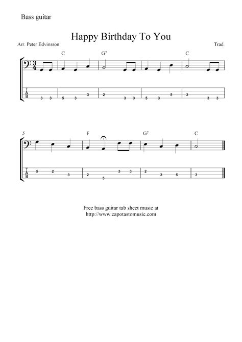 happy birthday guitar music mp3 download free bass guitar tab sheet music happy birthday to you