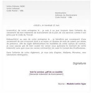 Exemple De Lettre Licenciement Pour Faute Grave Modele Lettre Licenciement Faute Grave