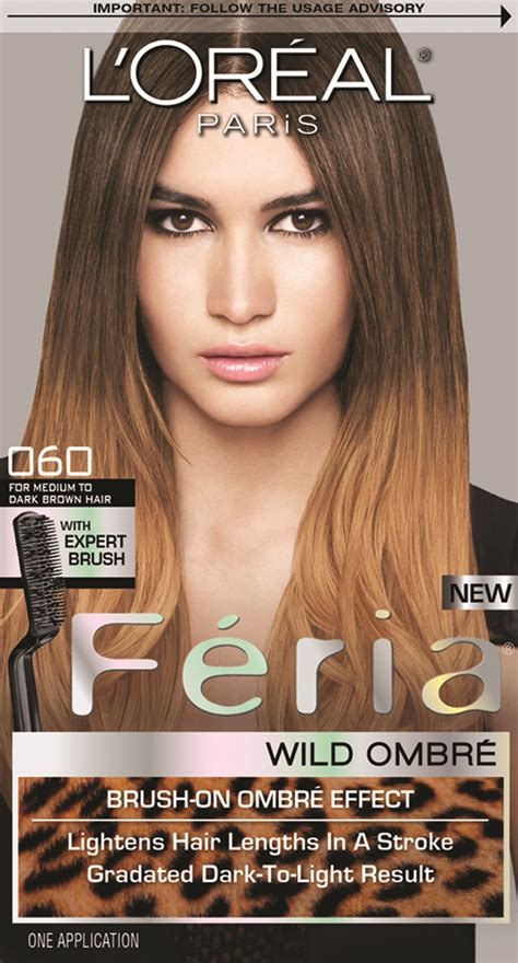 preference wild ombre on short hair l oreal paris feria wild ombre in o60 for medium to dark