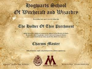 hogwarts certificate template collection et cr 233 ations harry potter mod 232 le 224 imprimer