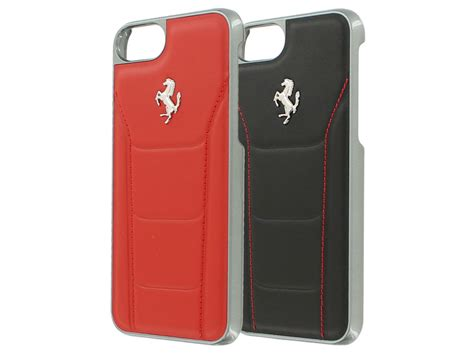 For Iphone 7 Plus Luxury Leather Ferrariii Limited 488 series leren iphone 8 7 hoesje