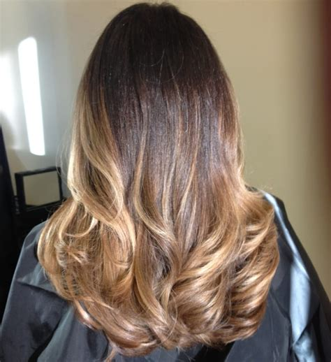 ombre for brunette balayage ombre hair color for brunettes yelp