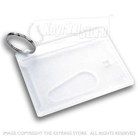 Card Holder Key Ring id card holder keyring membership swipe credit the