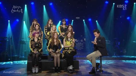 130119 Yhy Sketchbook Taengsic Moment Snsd