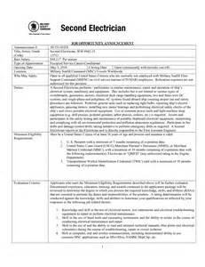 Sle Of Resume Profile by Electrician Resume New Zealand Sales Electrician Lewesmr