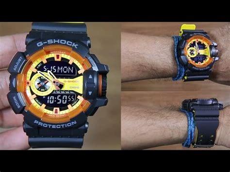 Casio G Shock Ga 400by 1a Original casio g shock ga 400by 1a dual tone resin band unboxing