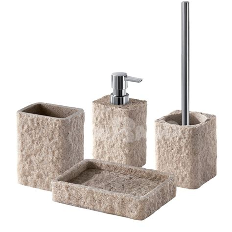 bathtubs accessories bath accessories set model g aries made of resin and sand
