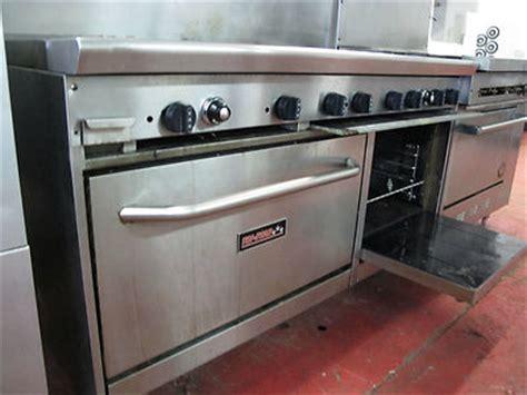 Oven Gas Tristar tri 60 quot 6 burner gas range 24 quot griddle with 2