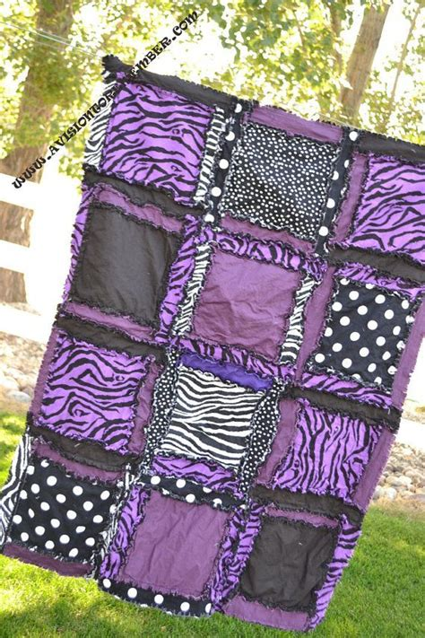 Zebra Patchwork Quilt - best 25 rag quilt ideas on rag quilt