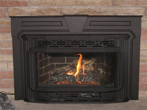 Wood In Gas Fireplace by New Breckwell Pellet Stove Fireplace Insert On Custom
