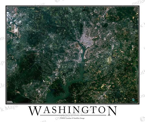 washington dc map satellite satellite map of washington dc washington dc map