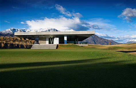 Landscape Architect New Zealand The Michael Hill Clubhouse Queenstown New Zealand E