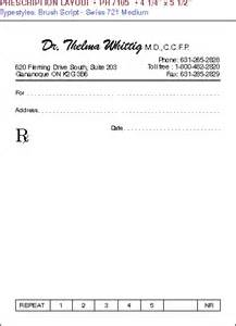 prescription pad template prescription pad sle www pixshark images
