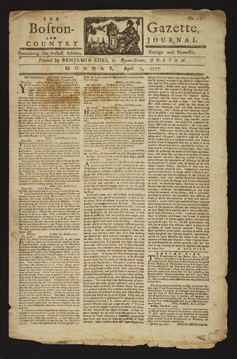 revolutionary war newspaper template the american revolution an everyday perspective