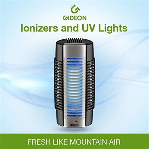 gideon electronic in air purifier with uv air sanitizer ion purifier and fan permanent