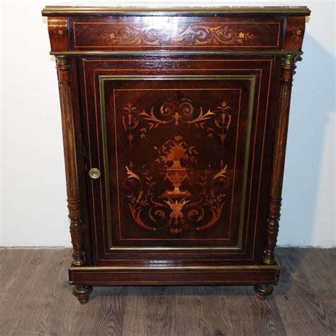 armadietto legno armadietto legno marqueterie 1870 catawiki