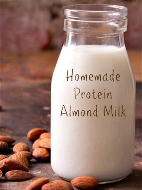 protein almond milk protein almond milk recipe thrifty jinxy
