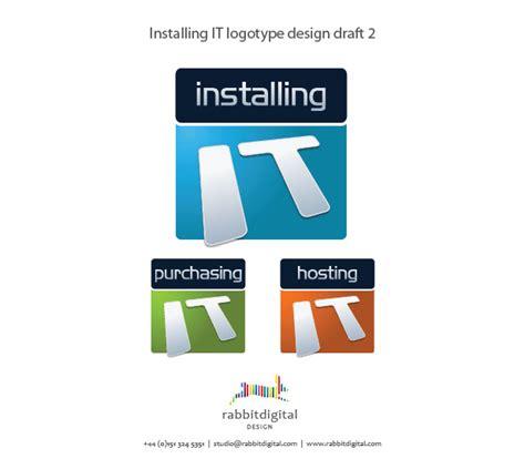 home based logo design runcorn it company installingit logo designs graphics
