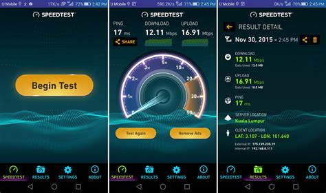 test speed mobile rangkaian 4g lte terpantas di malaysia yang diiktiraf
