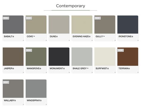 colorbond roof colours search reno exterior roof colors house colors