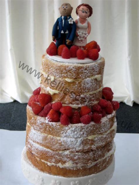 Wedding Cake No Icing by No Icing Weloveweddings