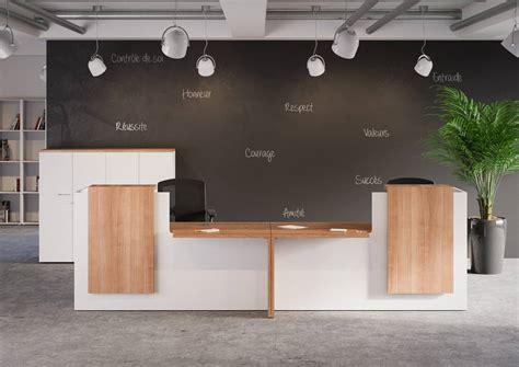banque de bureau mobilier de bureau banque d accueil quadrifoglio