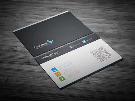 business card template creative free business cards psd templates print ready design