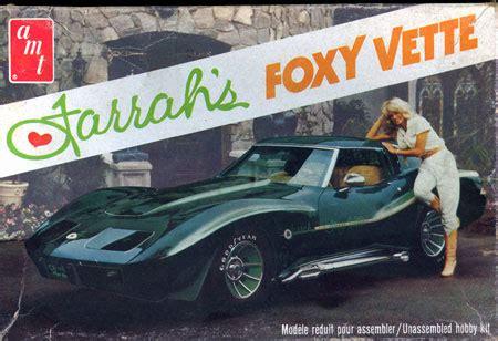 image: farrah fawcett and the 1970 chevrolet corvette