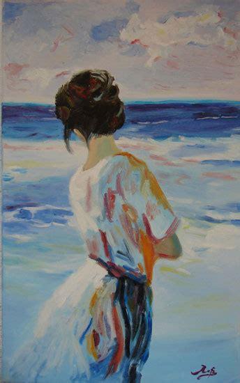 imagenes mujeres en el mar mujer mirando el mar