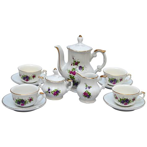 child s napoleon iii porcelain tea set for sale at