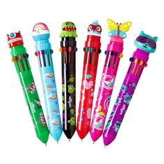Smiggle Pastel Scented Gel Pens X 7 Pulpen Smiggle image for highlighter faces from smiggle products