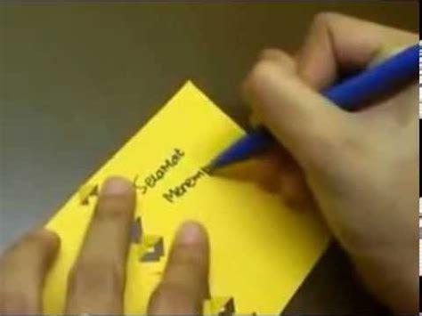 Youtube Membuat Kartu Ucapan | greeting cards membuat kartu ucapan sederhana youtube