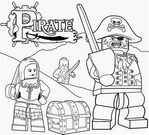 Coloring Pages Lego Pirates | free coloring pages printable pictures to color kids